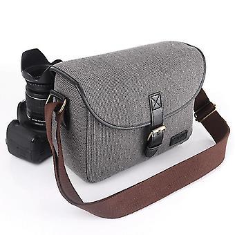 Udendørs afslappet kamerataske til Sony Canon 750d 6d kamera opbevaringspose