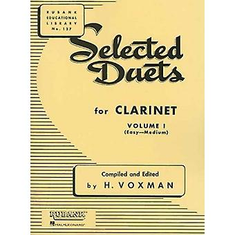 Selected Duets for Clarinet Vol. 1 by Edited by H Voxman