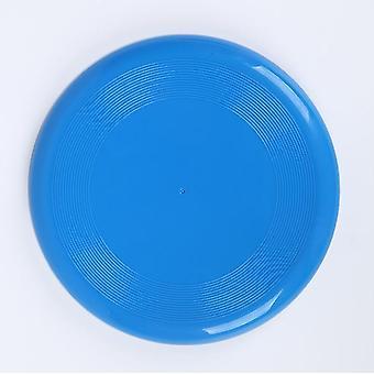 2Kpl 23,5cm sininen lasten urheilulelut ympäristöystävälliset muoviset lemmikkikoirapelit paksunnettu pyöreä lentävä lautanen az2809