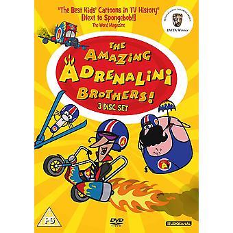 Den fantastiska Adrenelini Brothers DVD