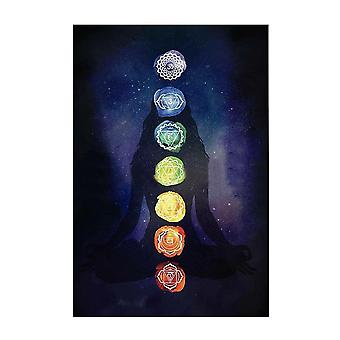 Neue Boho Regenbogen 7 Chakra Mandala Böhmen Decke
