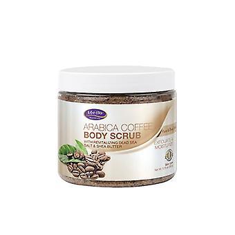 Life-Flo body scrub, Arabica kávé 9,25 Oz
