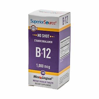 Superior Source Vitamin B12, 1000 mcg, 100 Count