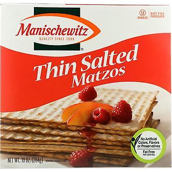 Manischewitz ماتزو رقيقة المملحة، حالة من 12 × 10 أوقية