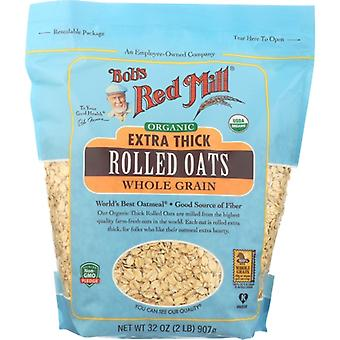 Bobs Red Mill Oats Rolld Xtra Thck Org, Case of 4 X 32 Oz