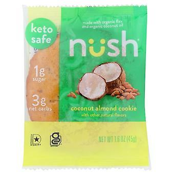 Nush Bar Kokosové mandľové cookie, Puzdro 10 X 1,6 Oz