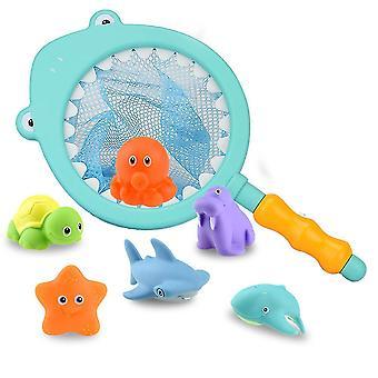 水色の子供風呂のおもちゃビーチおもちゃ子供の釣りおもちゃ homi3989