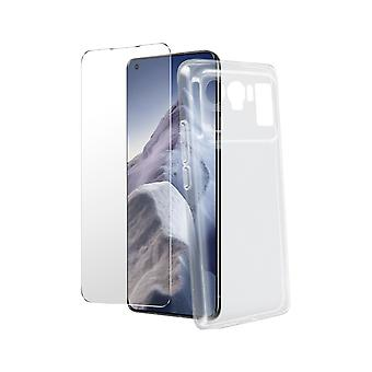 Cover Xiaomi Mi 11 Ultra Silicone Cover and Tempered Glass 9H clear
