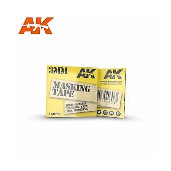 AKインタラクティブAK8202 3mmマスキングテープ - モデル作り、塗装
