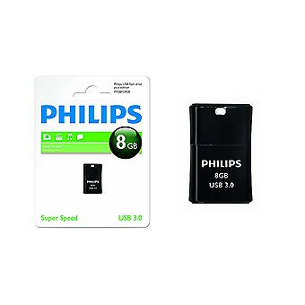 Philips USB 3.0 Pico Edition Flash Drive 8GB - Preto