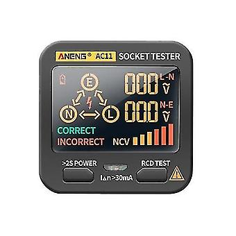 ANENG AC11 Socket Testeur Electric Leakage Detector LCD Display