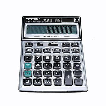 CT-8866 kristal knop calculator voor kantoor en student