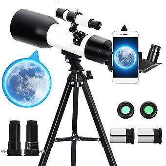 150x Astronomical Telescope, Refracting Space Telescope, Outdoor Travel Tracking Range With Tripod