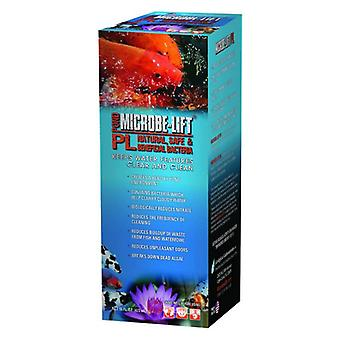 Microbe Lift PL Beneficial Bacteria for Ponds - 16 oz (Treats up to 10000 Gallons)