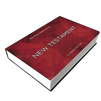NKJV New Testament Flipback Edition Paperback Comfort Print