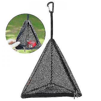 Household storage bags triangle hanging mesh bag trianfular net storage bag outdoor camping hanger s