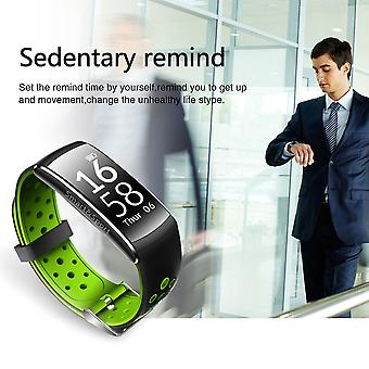 Q8 Smartband Heart Rate Monitoring Call Message Notification Ip68 Waterproof
