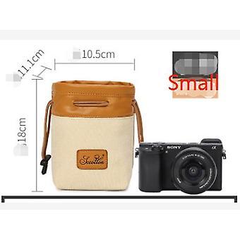 Digitális tükörreflexes fényképezőgép táska vízálló bélő kamera tároló táska Canon Nikon Sony lens táska Micro single digitális objektív táska