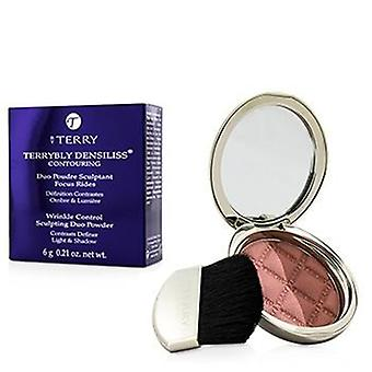 By Terry Terrybly Densiliss Blush Contouring Duo Powder - # 300 Peachy Sculpt - 6g/0.21oz