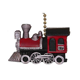 Choo Choo Train Locomotive  Nursery Ceiling Fan Pull