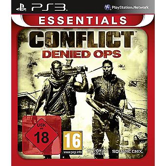 Conflict Denied OPS Essentials Edition PS3 spil