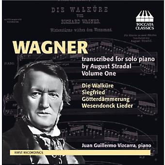 R. Wagner - Wagner: Transcribed Solo Piano by August Stradel, Vol. 1 [CD] USA import