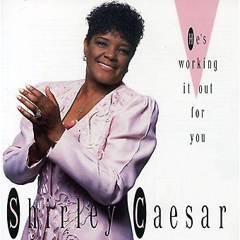 Shirley Caesar - He's Working It Out [CD] USA import