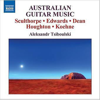 Sculthorpe/Edwards/Dean/Houghton/Koehne - Australian Guitar Music [CD] USA import