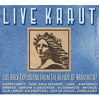 Live Kraut: Live Rock Explosions From the Heyday O - Live Kraut: Live Rock Explosions From the Heyday O [CD] USA import