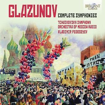 P.I. Tchaikovsky - Glazunov: Complete Symphonies [CD] USA import