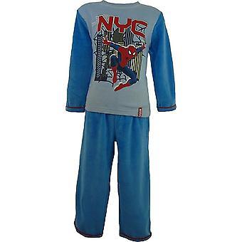 Jungen Marvel Spiderman samt Langarm Pyjama mit Socken im Feld