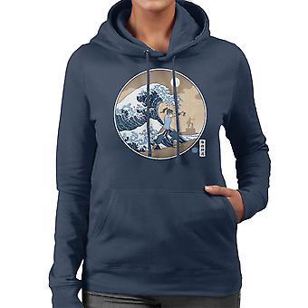 The Great Wave Of Republic Legend Of Korra Women's Hooded Sweatshirt
