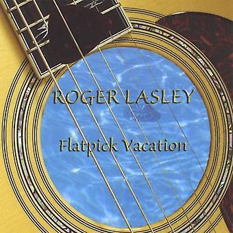 ロジャー ・ ラスリー - Flatpick 休暇 [CD] USA 輸入