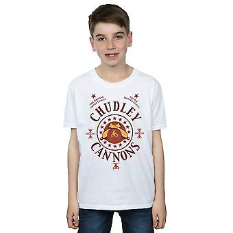 Harry Potter jungen Chudley Kanonen Logo T-Shirt