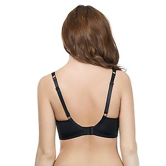 Parfait Marrianne Black and Silver Non-Padded Underwired Bra P5152