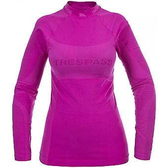 Trespass Damen/Damen bemühen lange Sleeve Baselayer Top