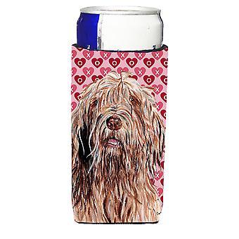 Otterhund Herzen und Liebe Ultra Getränke Isolatoren für schlanke Dosen