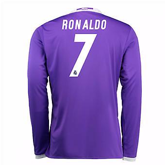 2016-17 החולצה של ריאל מדריד (רונאלדו 7)-ילדים