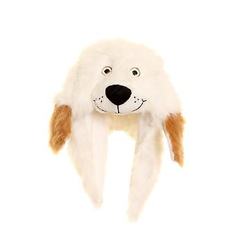 Childrens Unisex Dog Thermal Winter Trapper Hat With Ears (Fleece Lined)