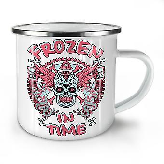 Frozen In TIme Dead NEW WhiteTea Coffee Enamel Mug10 oz | Wellcoda