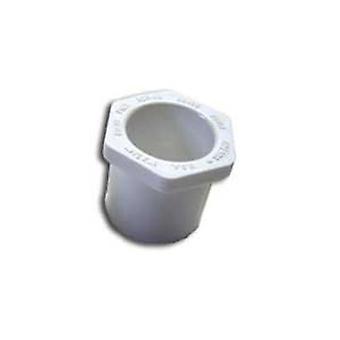 "Dura 437-338 3""x2"" SCH40 PVC Reducing Bushing 437338"