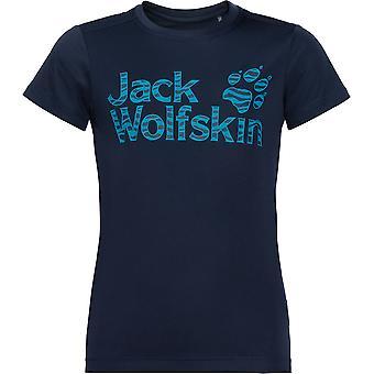 जैक Wolfskin लड़कों और लड़कियों के जंगल सांस यूवी सुरक्षात्मक टी शर्ट