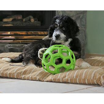 JW Pet Hol-ee Roller Rubber Dog Toy, Size 6.5 Inches, Large size