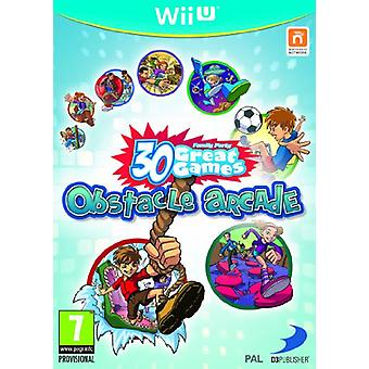 Family Party 30 Great Games Forhindring Arcade (Nintendo Wii U) - Som ny