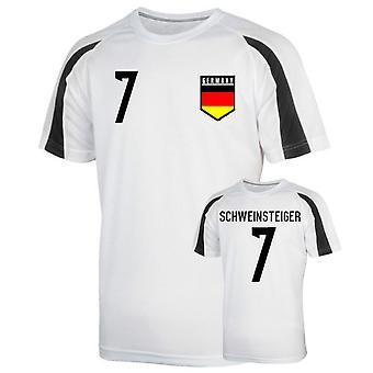 Джерси Германии спортивная подготовка (Швайнштайгер 7) - дети