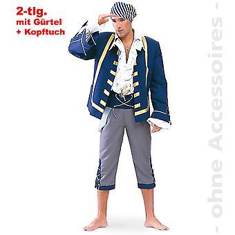 Pirate Buccaneer mens kostuum piraat kostuum piraat kostuum Piraat kapitein mens kostuum