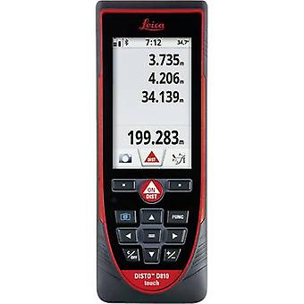 Leica Geosystems Disto D810 Laser range finder Touchscreen, 1/4 (6.3 mm) tripod adapter , Rechargeable Li-ion battery, Bluetooth Reading range (max.) 200 m