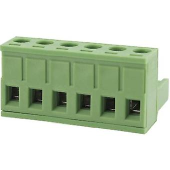 Degson Pin kapsling - kabel Totalt antal stift 6 Kontaktavstånd: 5,0 mm 2EDGK-5,0-06P-14-00AH-1 1 st(n)