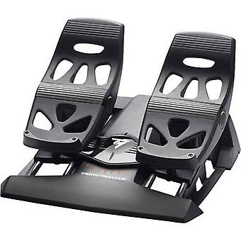 ThrustMaster TFRP T.Flight roer pedalen rem pedaal pad USB, RJ12 PC, PlayStation 4 zwart