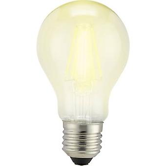 Sygonix LED (monochrome) EEC A++ (A++ - E) E27 Arbitrary 6 W = 60 W Warm white (Ø x L) 60 mm x 105 mm Filament 1 pc(s)